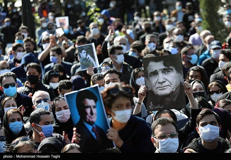 1399071914115182221407164 مراسم تدفین, محمدرضا شجریان