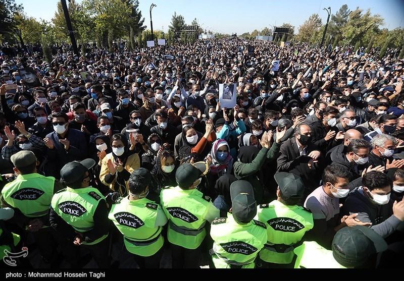 1399071914115221221407164 مراسم تدفین, محمدرضا شجریان