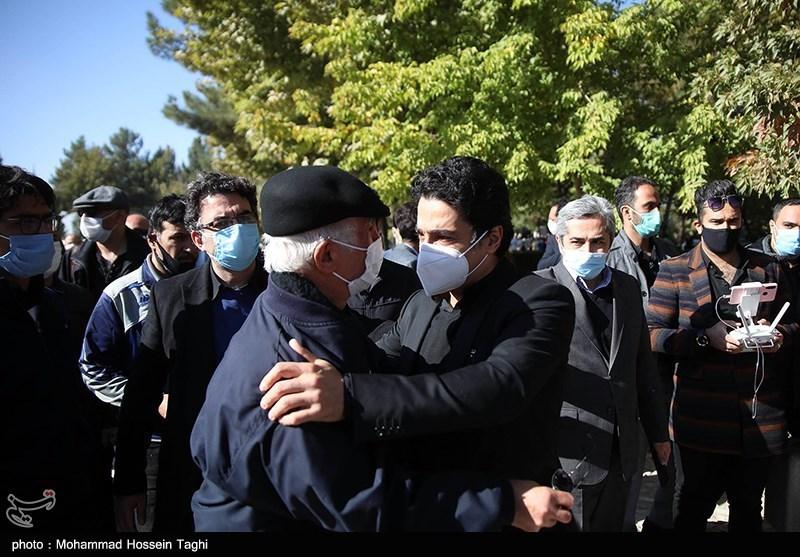 1399071914115461921407164 مراسم تدفین, محمدرضا شجریان