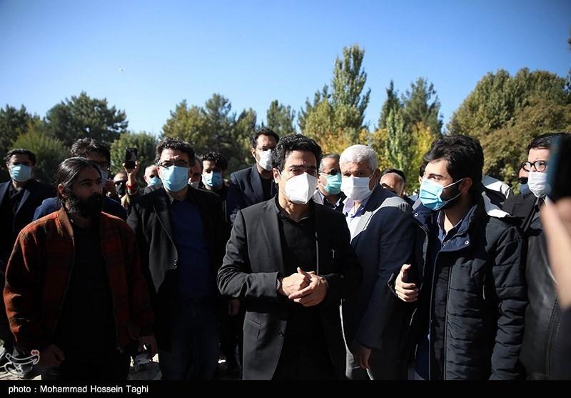 1399071914115483721407164 مراسم تدفین, محمدرضا شجریان