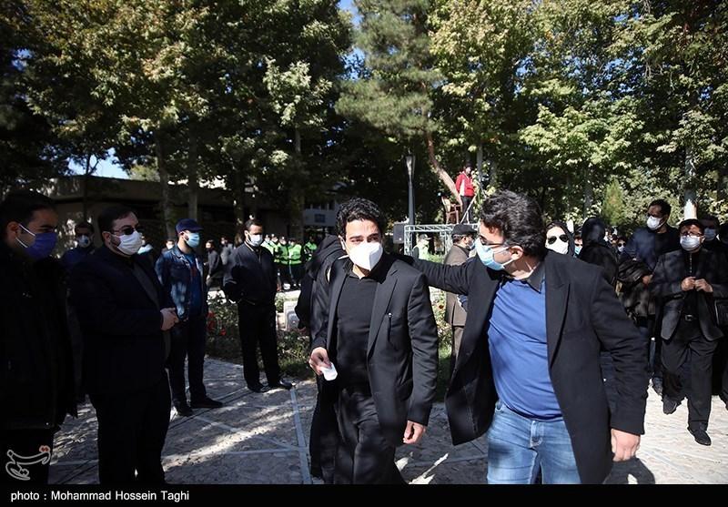 139907191411550921407164 مراسم تدفین, محمدرضا شجریان
