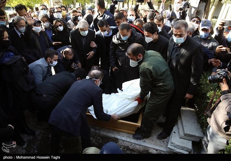 1399071914115538421407164 مراسم تدفین, محمدرضا شجریان