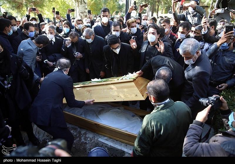 1399071914115560321407164 مراسم تدفین, محمدرضا شجریان