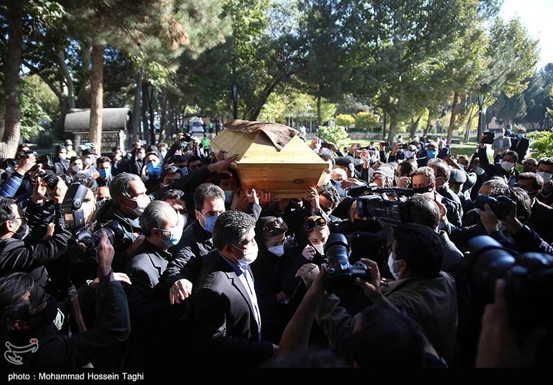 1399071914115855621407164 مراسم تدفین, محمدرضا شجریان