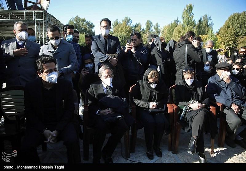 1399071914115911921407164 مراسم تدفین, محمدرضا شجریان