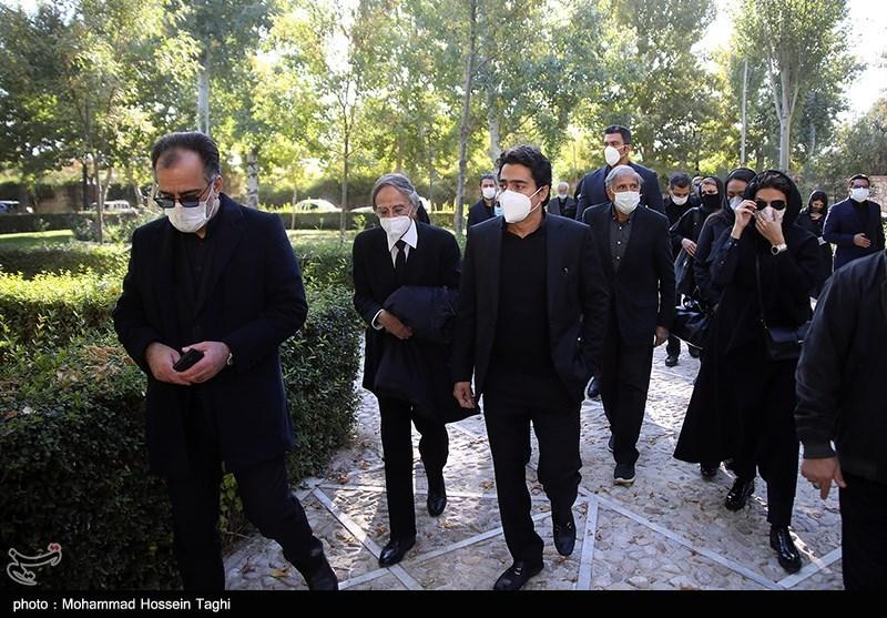 1399071914115960321407164 مراسم تدفین, محمدرضا شجریان