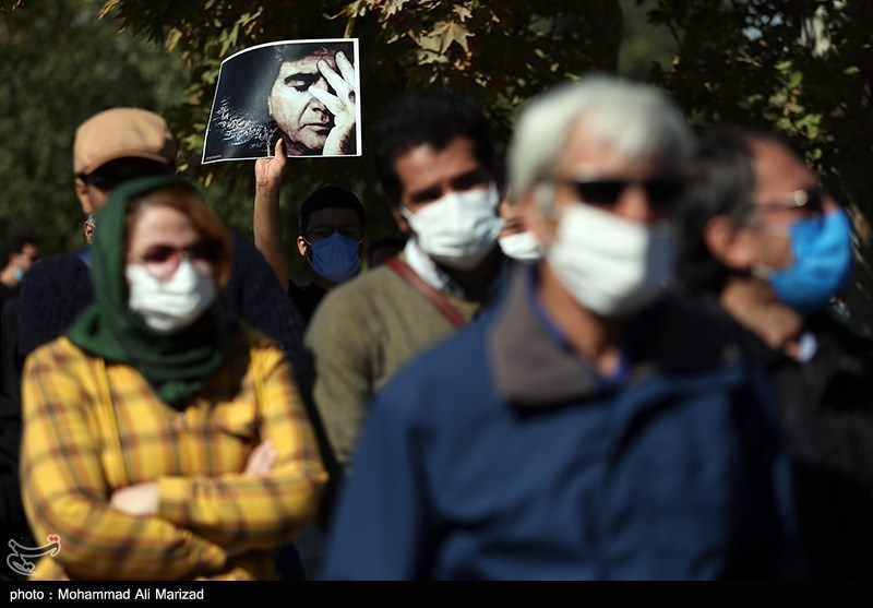 1399071914131097821407164 مراسم تدفین, محمدرضا شجریان