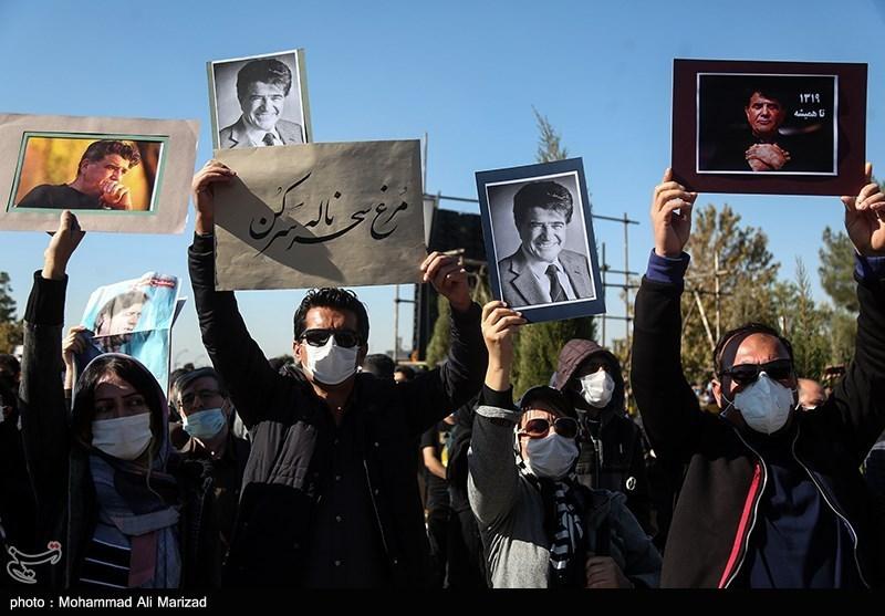 1399071914131113521407164 مراسم تدفین, محمدرضا شجریان
