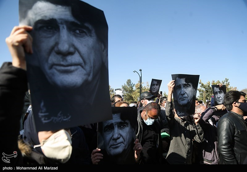 1399071914131127521407164 مراسم تدفین, محمدرضا شجریان