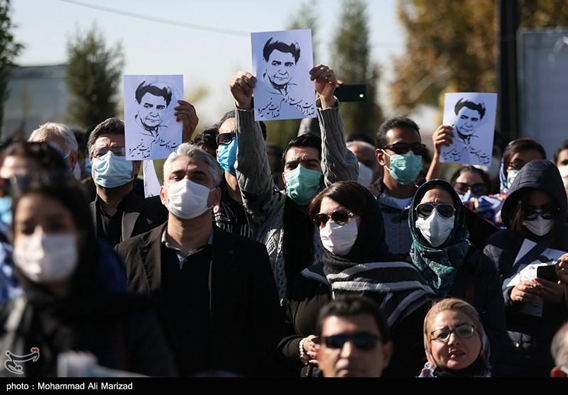 1399071914131191621407164 مراسم تدفین, محمدرضا شجریان