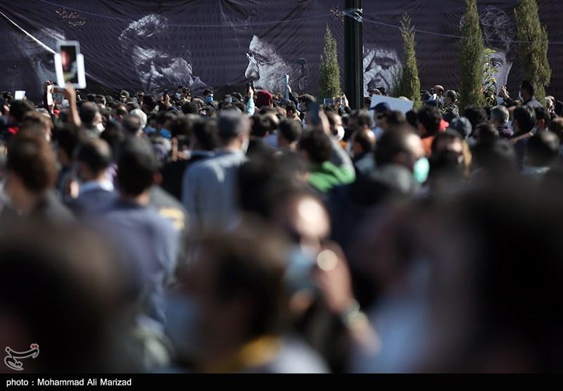 1399071914131255621407164 مراسم تدفین, محمدرضا شجریان