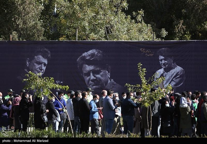 1399071914131263521407164 مراسم تدفین, محمدرضا شجریان