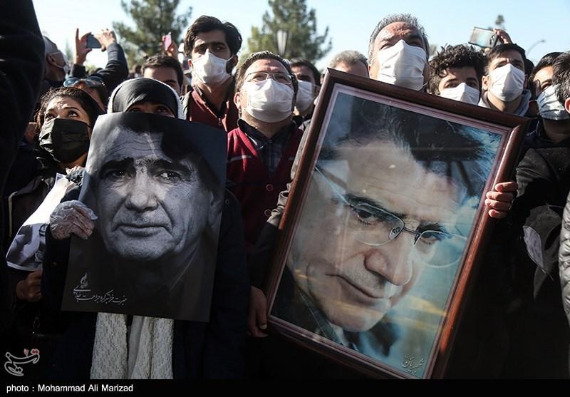 1399071914131290021407164 مراسم تدفین, محمدرضا شجریان