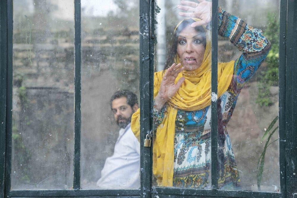 افسانه بایگان با چهره و گریم عجیب در «سیاهباز»/ عکس