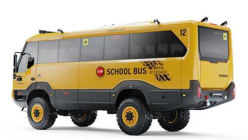 تورسس؛ مفهومی متفاوت از اتوبوس مدرسه! / عکس