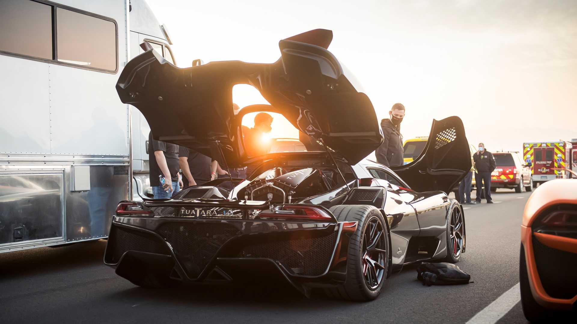 تواتارا با رکورد ۵۰۹ کیلومتربرساعت؛ سریعترین خودرو جهان شد