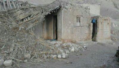 باران ۱۰ خانه روستایی را در ایذه تخریب کرد