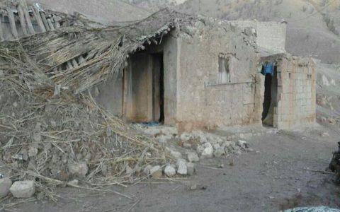 باران ۱۰ خانه روستایی را در ایذه تخریب کرد تخریب منزل مسکونی, بارش باران, ایذه