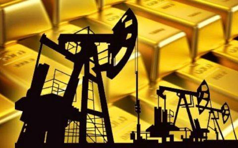 بهای طلا و نفت امروز دوشنبه در بازارهای جهانی
