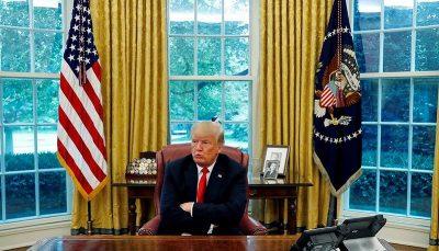 تحویل قدرت ترامپ انتخابات 2020 آمريكا, ترامپ و بایدن, ترامپ