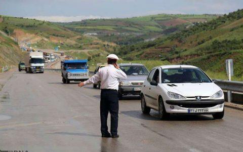 ترافیک ورودی به تهران سنگین است