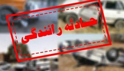 تصادف مرگبار پراید با کامیون در جاده ورامین به تهران