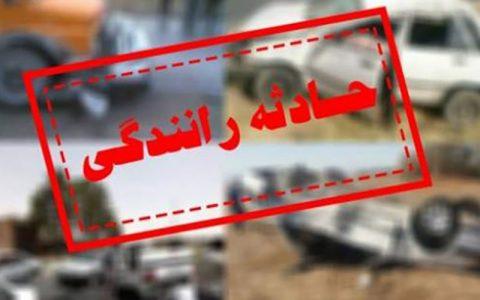 مرگبار پراید با کامیون در جاده ورامین به تهران