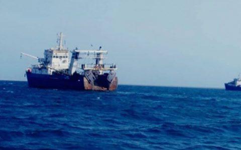 توقیف کشتی حامل ۶ ایرانی در سواحل یمن