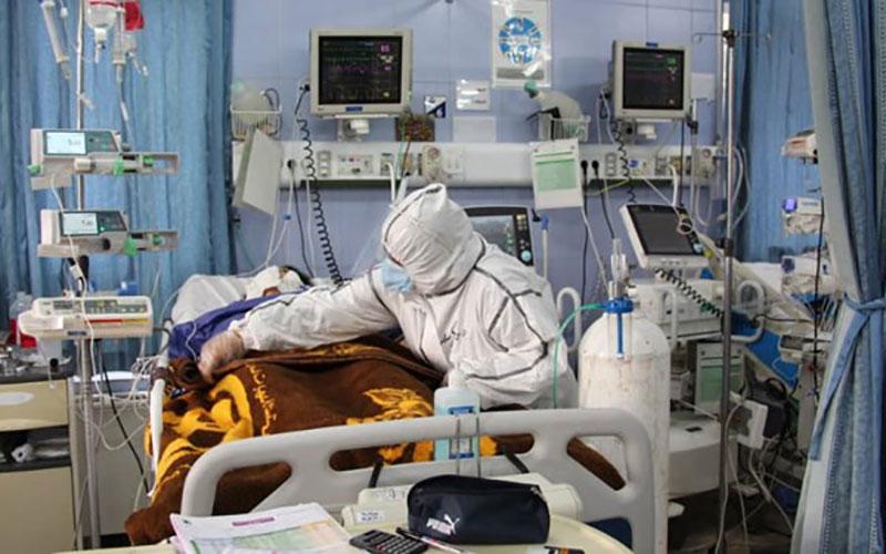 جان باختن ۴۵۹ بیمار بر اثر ابتلا به کرونا/ ۲۵۴۴ بیمار در ICU بستری هستند