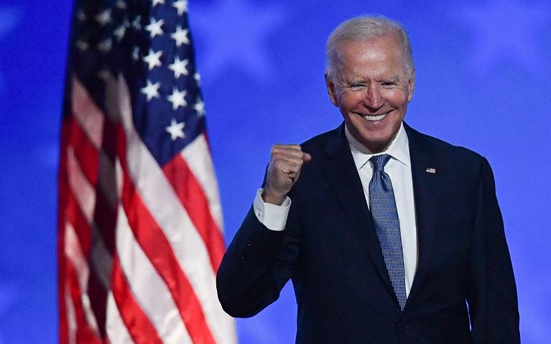 جو بایدن پیروز شد انتخابات 2020 آمريكا, جو بایدن