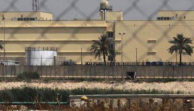 حمله به سفارت توسط گروههای تحت حمایت ایران انجام گرفت حمله راکتی, سفارت آمریکا