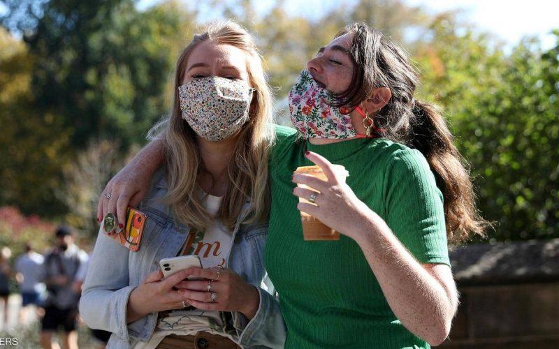 خوشحالی شهروندان آمریکایی از پیروزی بایدن/ عکس