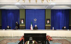 رونمایی روحانی از یک توطئه آمریکاییها علیه ایران توطئه آمریکاییها, علیه ایران, حسن روحانی