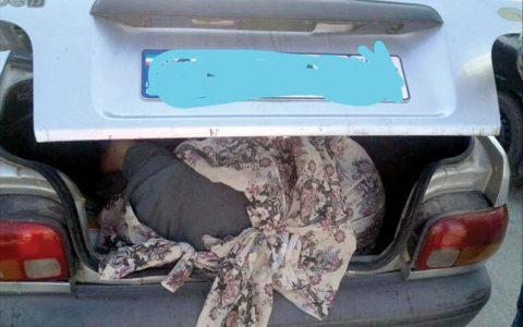 زن جوانی جسد را به جای ضایعات به مرد مسافرکش قالب کرد عوامل قتل, جسد, پلیس
