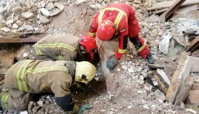 فوت کارگر جوان به دلیل ریزش آوار در یک ساختمان در حال ساخت