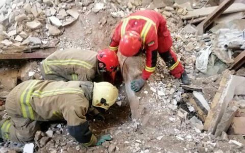 فوت کارگر جوان به دلیل ریزش آوار در یک ساختمان در حال ساخت فوت کارگر جوان, ریزش آوار