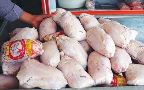 قیمت مرغ ١۵ هزار تومان کاهش یافت قیمت مرغ