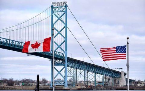 محدودهایتهای مرزی آمریکا و کانادا بار دیگر تمدید شد