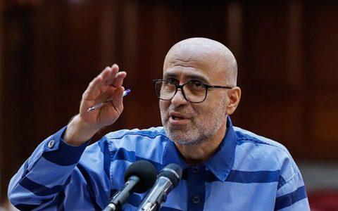 نامه طبری از زندان اوین ناهار در منزل آقای آملی لاریجانی مهمان بودم بازداشتم کردند پروندههای فساد اقتصادی, اکبر طبری