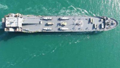 ناو اقیانوسپیمای ایرانی که تمام معادلات آمریکا را به هم میریزد / راهبرد جدید دفاعی برای حفظ امنیت خلیج فارس / عکس