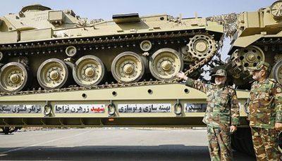 نیروی زمینی ارتش، با این فناوری های نظامی هجومی تر شد