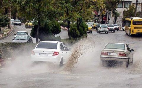 هوای بارانی تهران برای گروههای حساس ناسالم است هوای بارانی تهران, کیفیت هوا