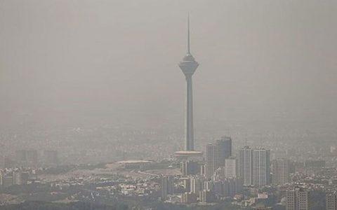 هوای تهران آلوده است کیفیت هوای پایتخت