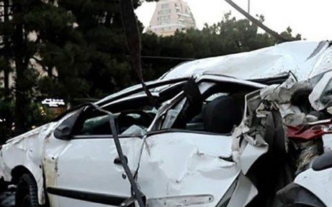 واژگونی خودروی پژو ۲۰۶ در قزوین ۲ کشته و یک مجروح بر جای گذاشت واژگونی خودرو, قزوین