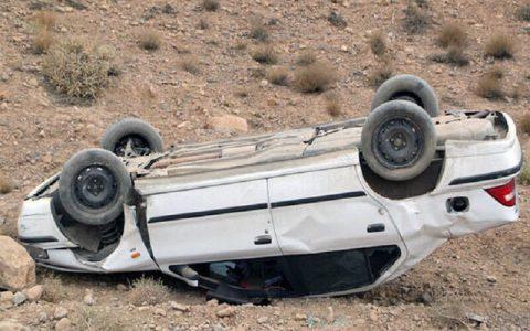 واژگونی سمند در جاده امیدیه - ماهشهر با سه کشته و ۲ مجروح