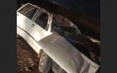 واژگونی پراید در پل سوم بشار یاسوج یک کشته و ۲ مصدوم داشت واژگونی پراید