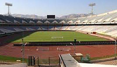 ورزشگاه آزادی ۲ هفته تعطیل شد