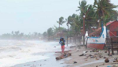 وقوع طوفان شدید در فیلیپین