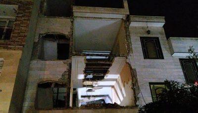 وقوع ۲ حادثه ریزش آوار در پایتخت حادثه ریزش آوار, پایتخت