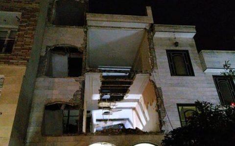 وقوع ۲ حادثه ریزش آوار در پایتخت
